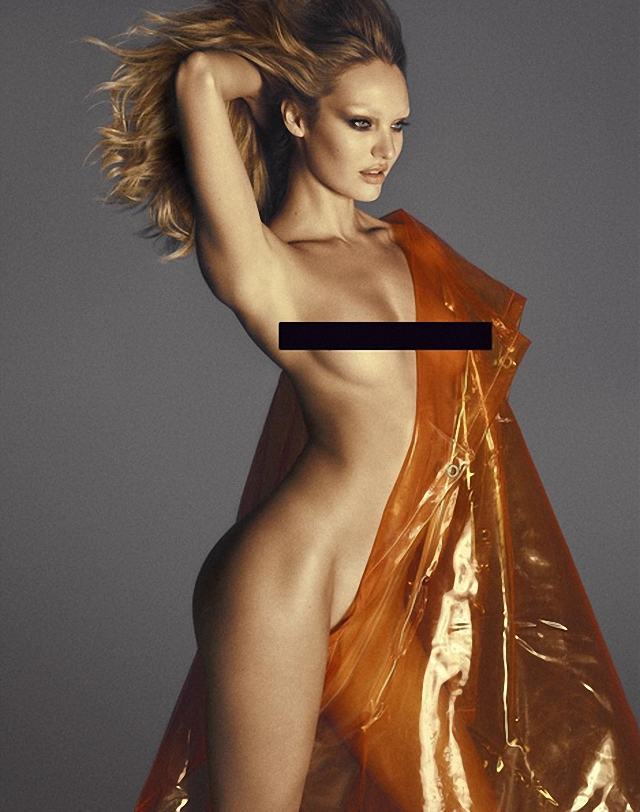 Candice Swanepoel Lui Magazine