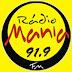 Rádio: Ouvir a Rádio Mania FM 91,9 da Cidade de Volta Redonda - Online ao Vivo