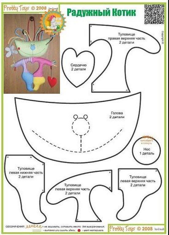 El chanchito verde manualidades : Patrones o moldes para hacer gatos ...