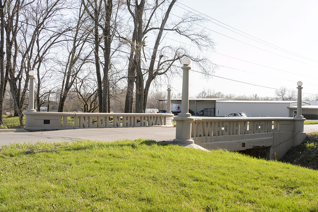 Lincoln Highway Bridge in Tama, IA