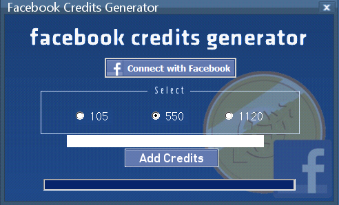 Facebook Credits Generator 2013