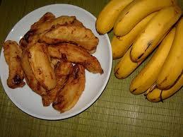 pisang goreng madu