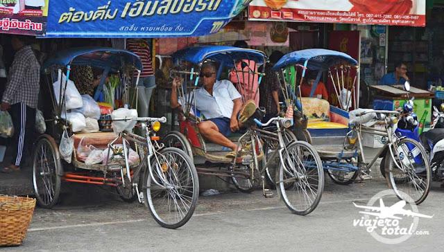 Tailandia Bangkok Bicicleta