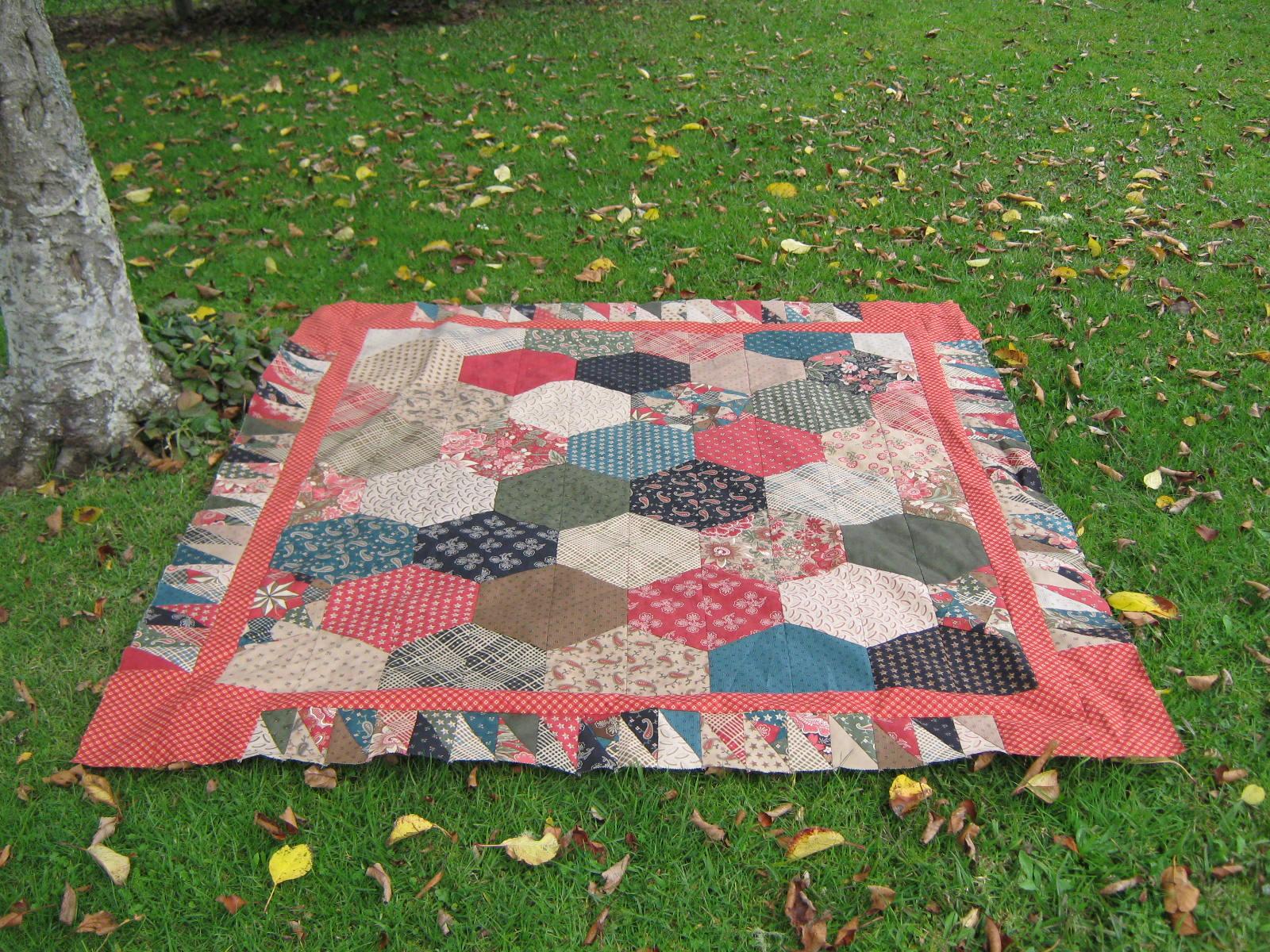Layer Cake Quilt Moda : quiltmekiwi: Autumn leaves