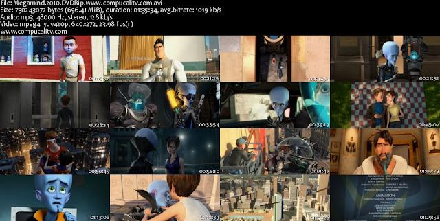 Megamind 3D DVDRip Español Latino Descargar 1 Link 2010