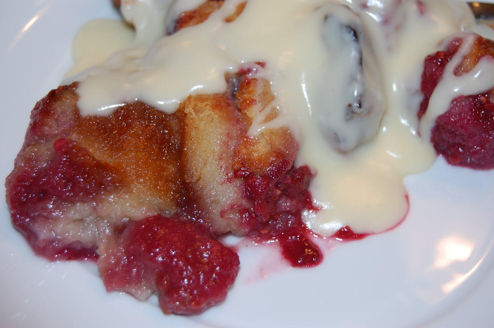 Cook! Create! Consume!: Raspberry Bread Pudding