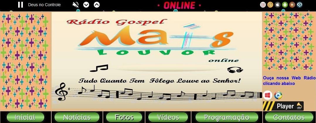 CLIQUE E ENTRE NA WEB RÁDIO GOSPEL