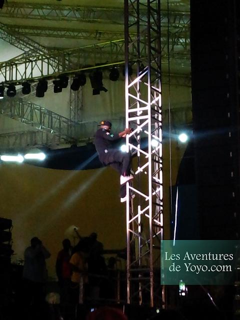 Concert Wyclef à Abidjan