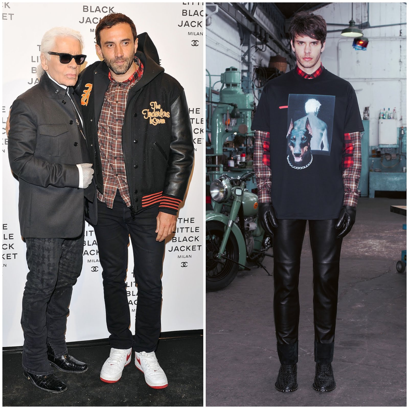00O00 Menswear Blog Riccardo Tisci in Givenchy - Chanel