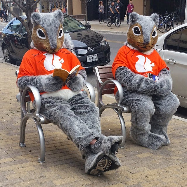 The Squirl squirrels at SXSW Interactive