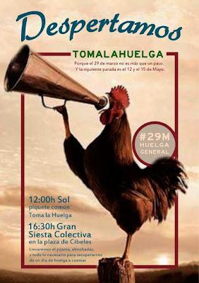 Espanha 29M: APRENDER A GREVE COM QUEM SABE