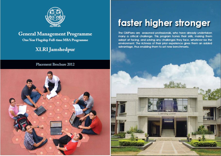 2011-12 Placement Brochure