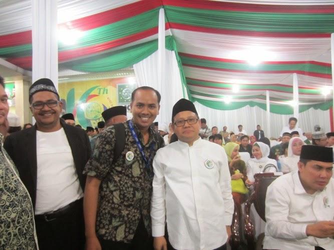 Kang Miftah Bersama Mentri Tenaga Kerja (Muhaimin Iskandar)