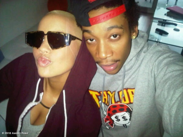 amber rose and wiz khalifa engaged. hair wiz khalifa amber rose