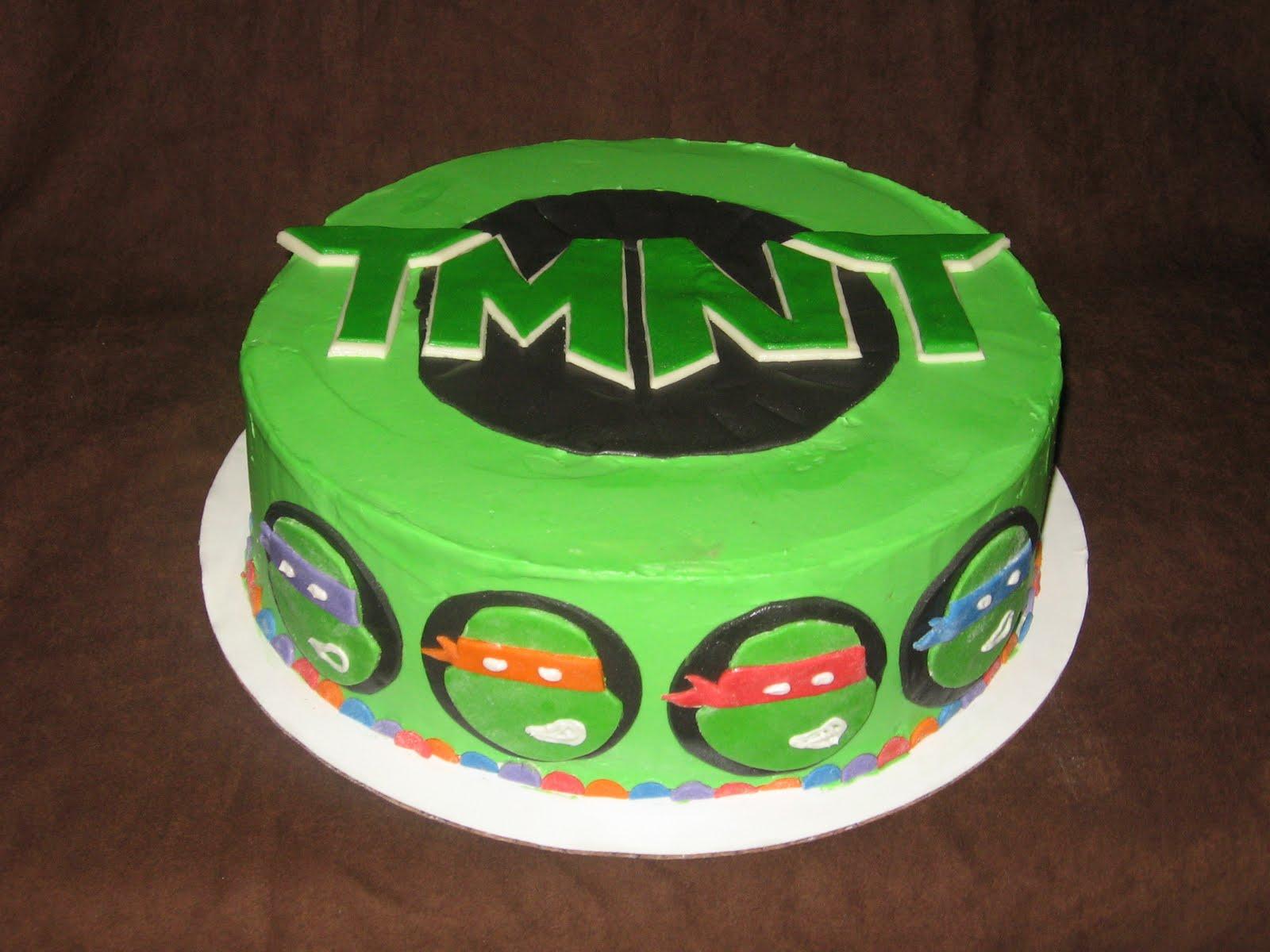 tmnt birthday cakes