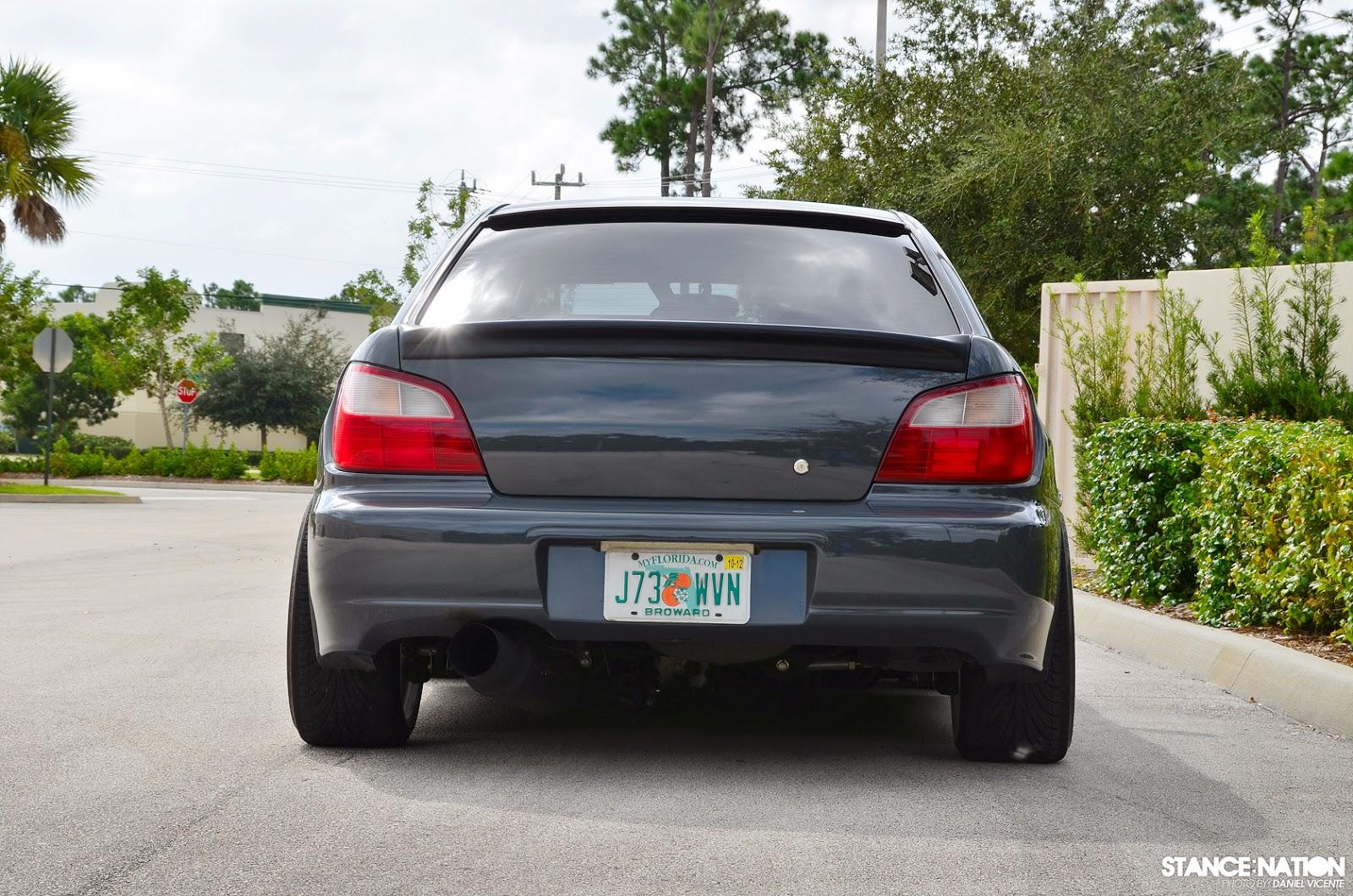 Stance Low Life Subaru 02 Wrx Bugeye Rwd