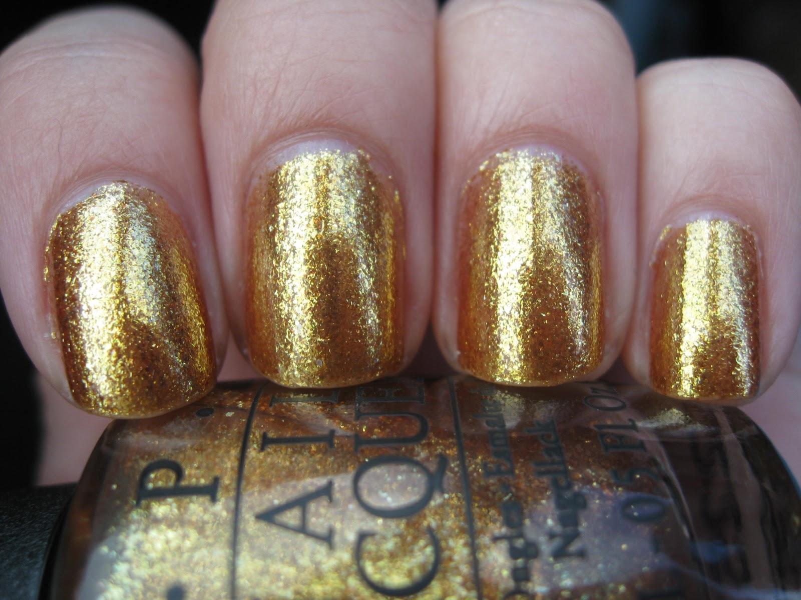 Opi Goldeneye Nailed: A Nail Polish ...