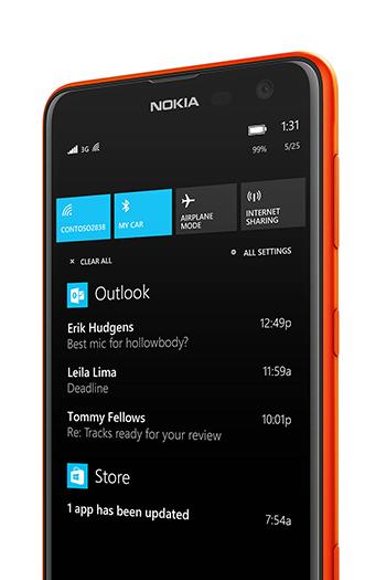 Nokia Lumia Cyan Update