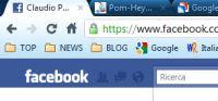 connessione sicura Facebook