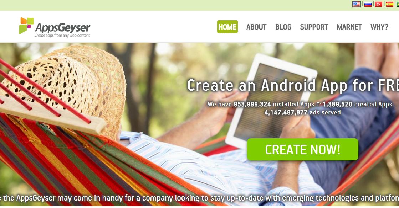 Situs Web untuk Buat Aplikasi Android Secara Instant