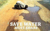 HELP OTHERS DON'T WASTE WATER