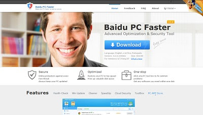 Baidu PC Faster , Cleaning and Tweaking