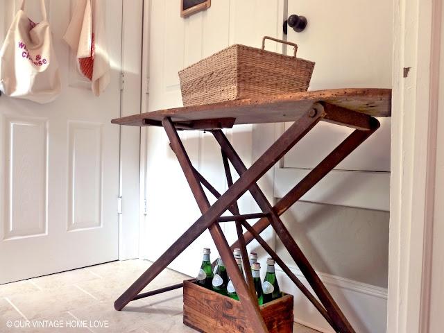 Almacén de Inspiraciones: Antigua tabla de planchar