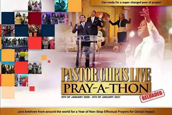 Join the Live Session of Pray-A-Thon with Pastor Christ