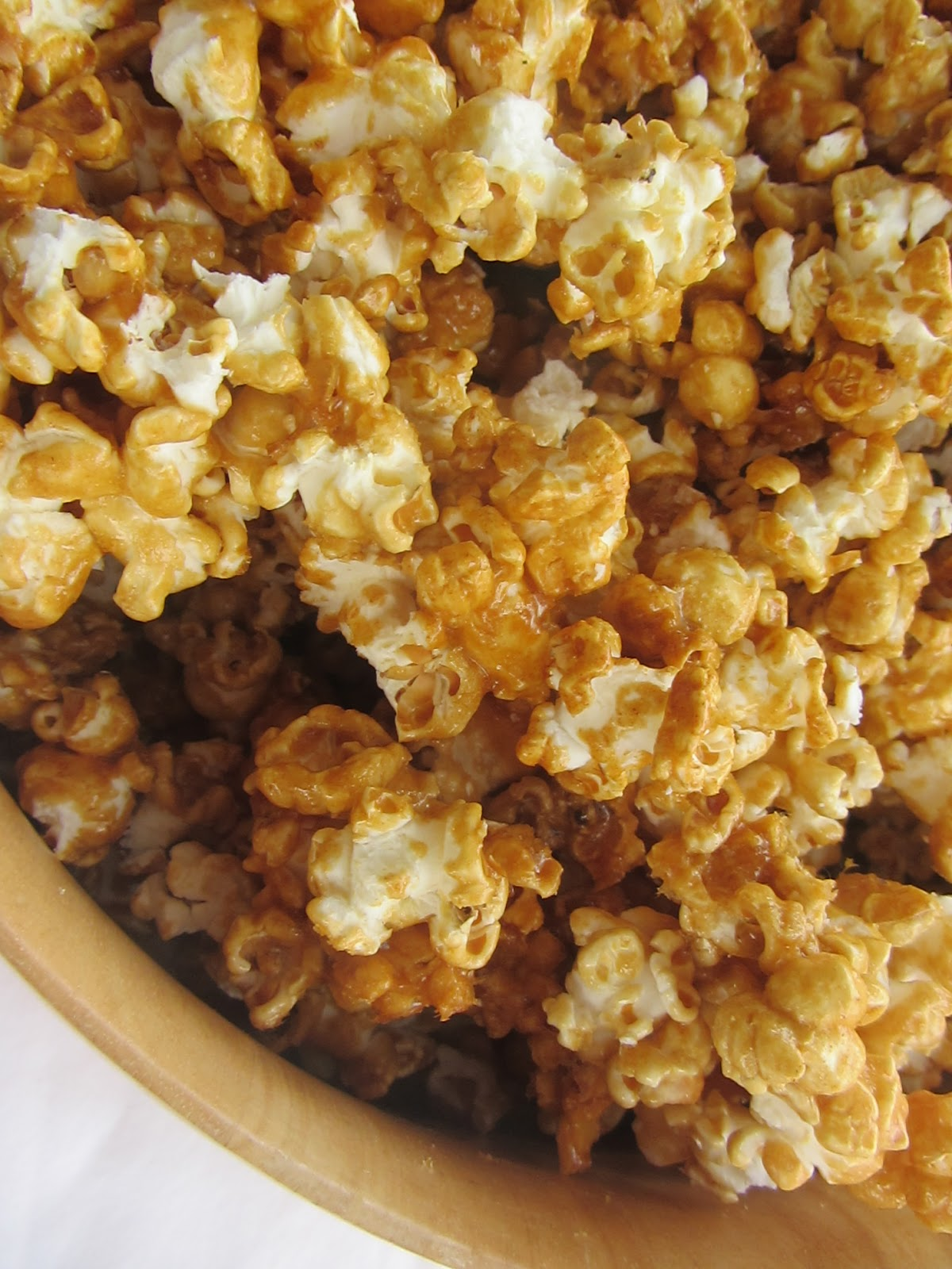Making More with Less: Caramel Popcorn