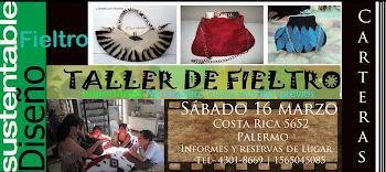 """TALLERES DE FIELTRO 2013 : ABIERTA LA INCRIPCION """""""
