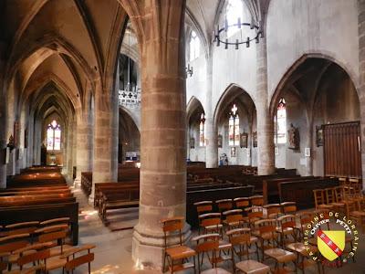 RAMBERVILLERS (88) - L'église Sainte Libaire