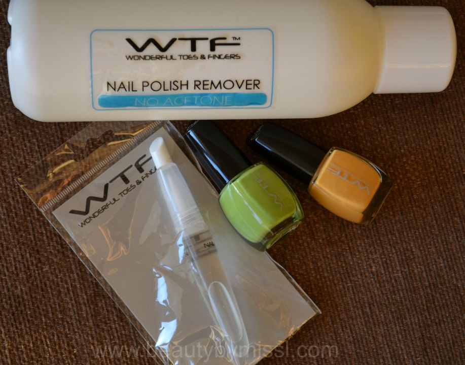 WTF Nail Polish Remover, Nail&Cuticle Oil Pen with Macadamia Oil, WTF nail polishes C32 & C38