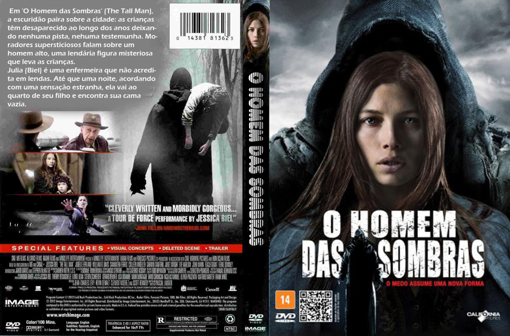 Capa DVD O Homem Das Sombras