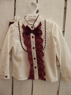 camisa niña dolce petit