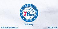 Philadelphia 76ers Rebranded Logo - Primary