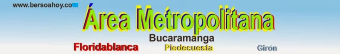 Área Metropolitana, Bucaramanga