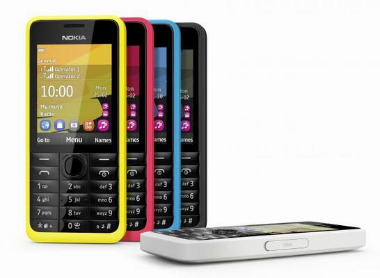 Harga handphone Nokia 301