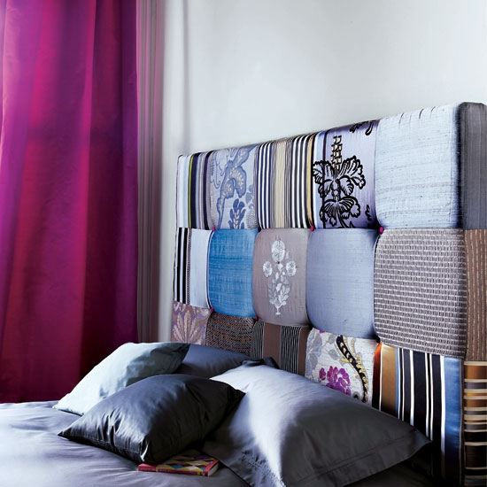 Camas con cabeceros originales dormitorios con estilo - Cabeceras de cama acolchadas ...