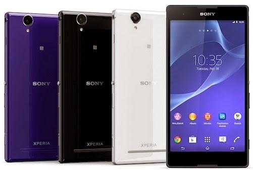 Sony Xperia T2 Ultra Spesifikasi dan Harga