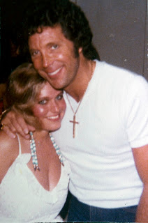 Charlotte Laws and Tom Jones in the 1980s