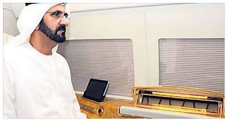 Ruler of Dubai prevent aircraft from landing