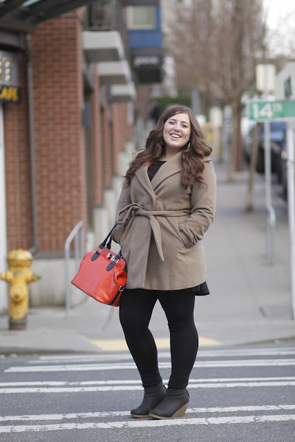 mandy walters orange purse seattle street style fashion it's my darlin'