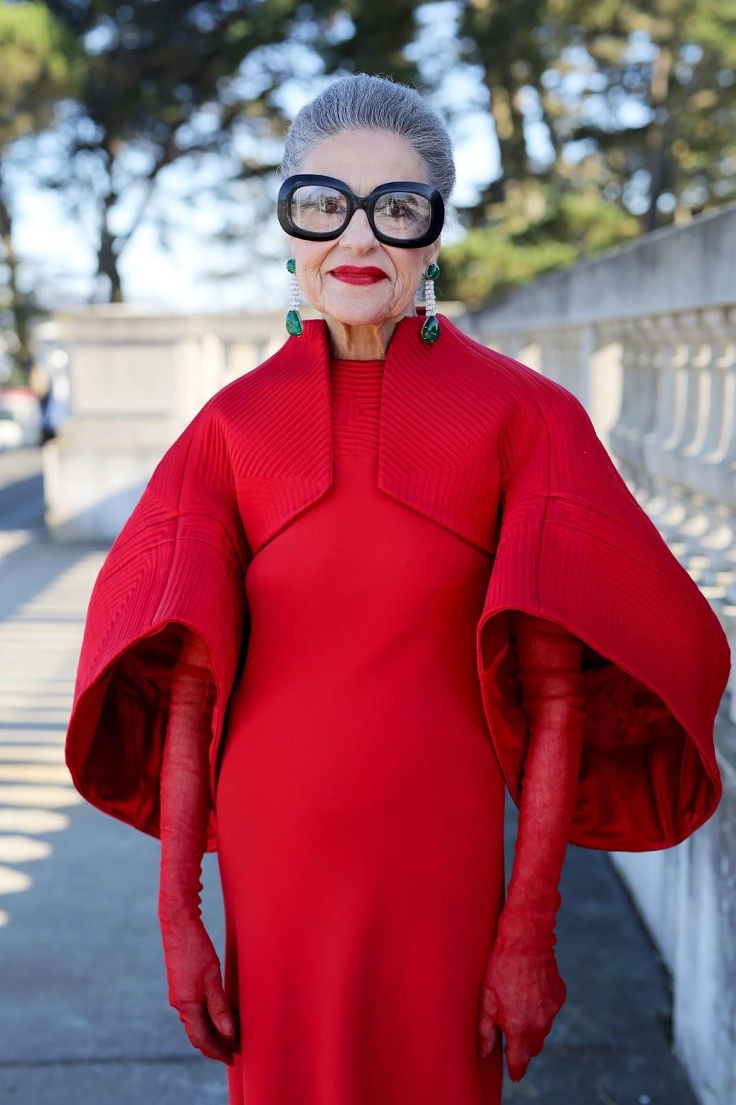 Streetstyle cực chất của những fashionista bô lão ảnh 3