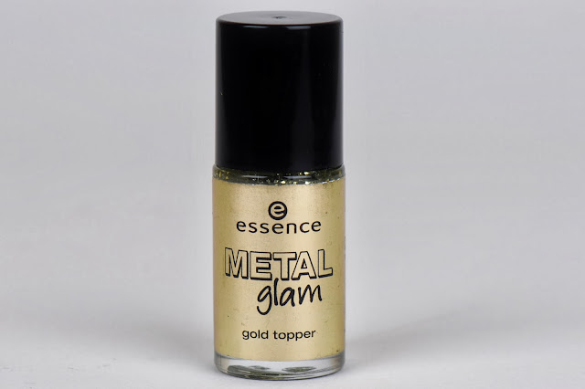 Essence Metal Glam 'Steel-ing the Scene' Gold Topper review swatch