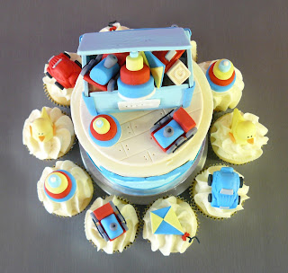 Toy Box Cupcakes