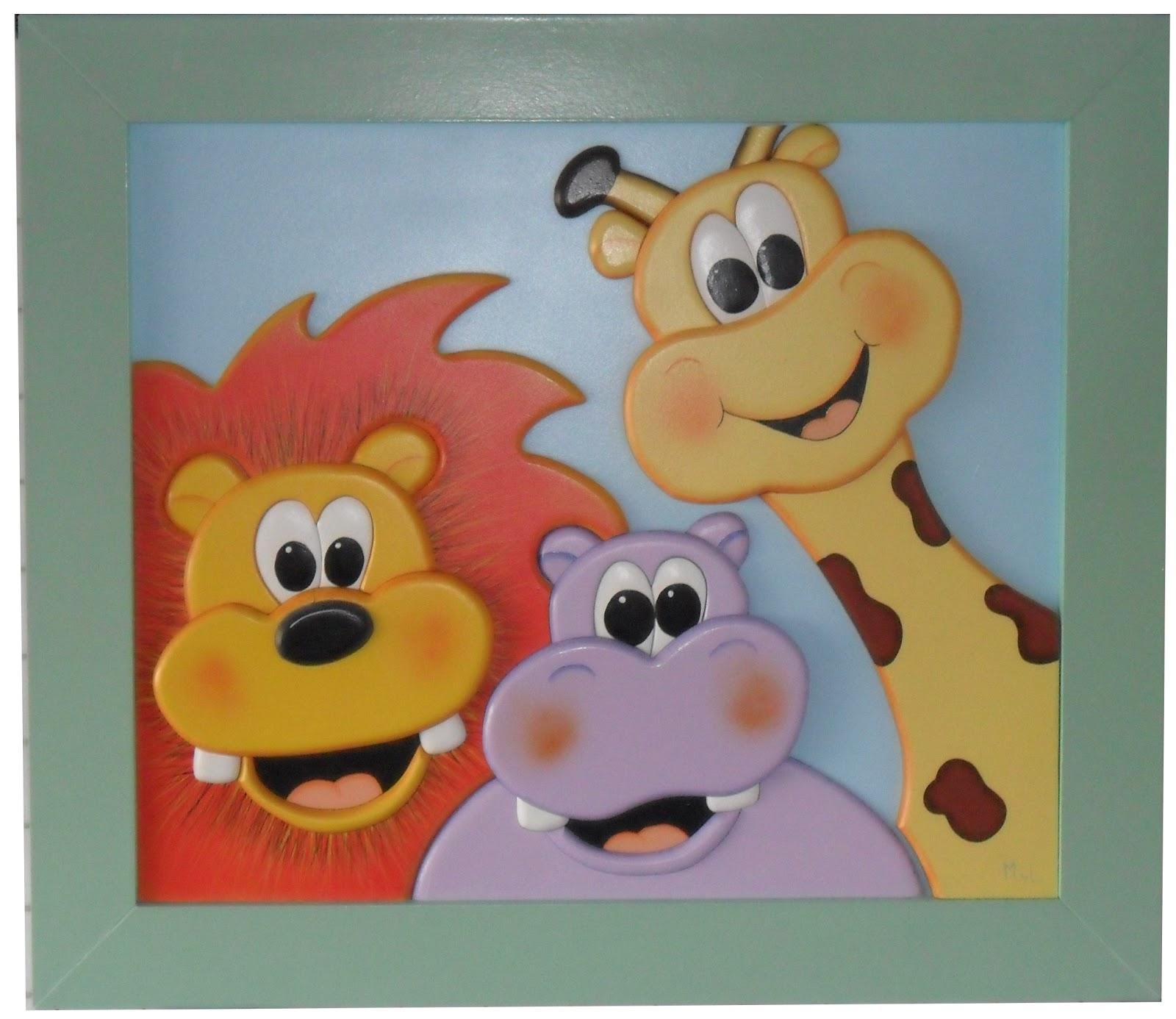 Myl cuadros en madera de relieve cuadros infantiles unisex - Percheros infantiles de pared ...