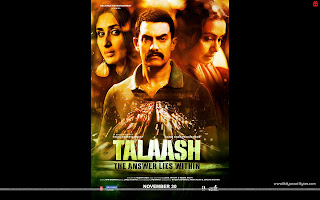 Talaash HD Wallpaper Aamir Khan, Kareena Kapoor, Rani Mukerji