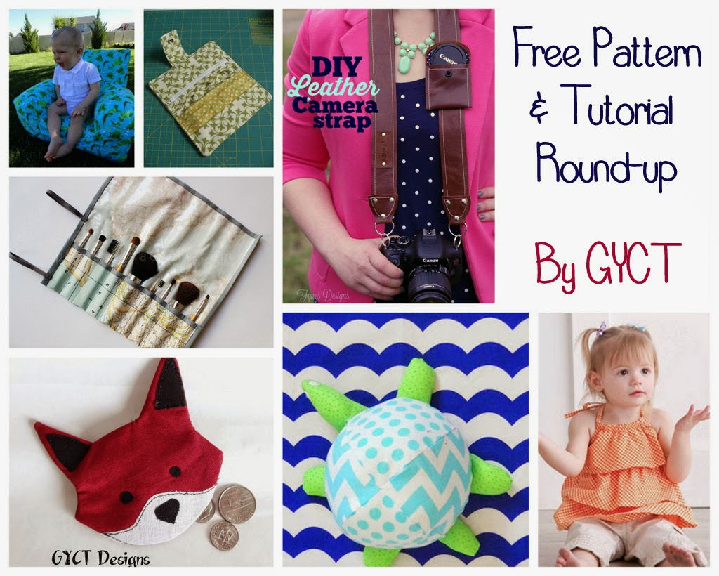 Free Pattern and Tutorial Round Up at GYCT