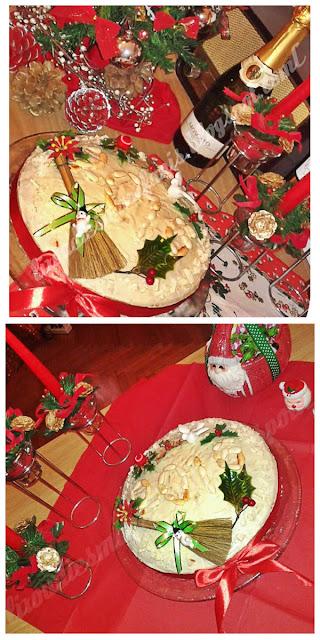Βασιλόπιτα με λευκή σοκολάτα, αμύγδαλα και λεμόνι (2016)