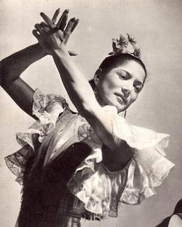 Carmen Amaya Ruffle